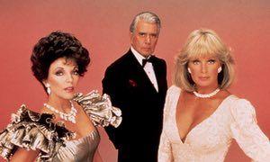 Joan Collins, John Forsythe and Linda Evans in Dynasty v1.
