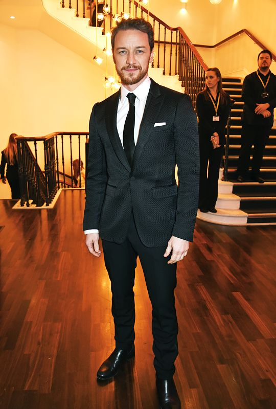 """mcavoys: """" James McAvoy attends a cocktail reception at The 62nd London Evening Standard Theatre Awards, recognising excellence from across the world of theatre and beyond, at The Old Vic Theatre on November 13, 2016 in London, England. """""""