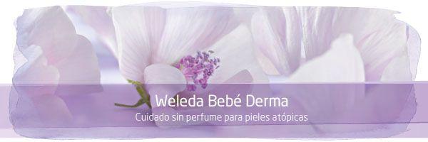 Productos bebé especiales para pieles con dermatitis atópica. Con malva blanca de propiedades antiinflamatorias.
