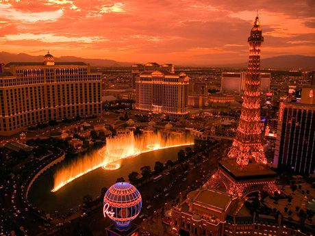 Промо акция на поездку в Лас Вегас