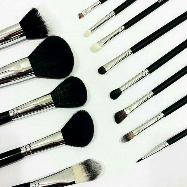 You need the right tools for that perfect look! Come check out our #mikasabeauty brushes