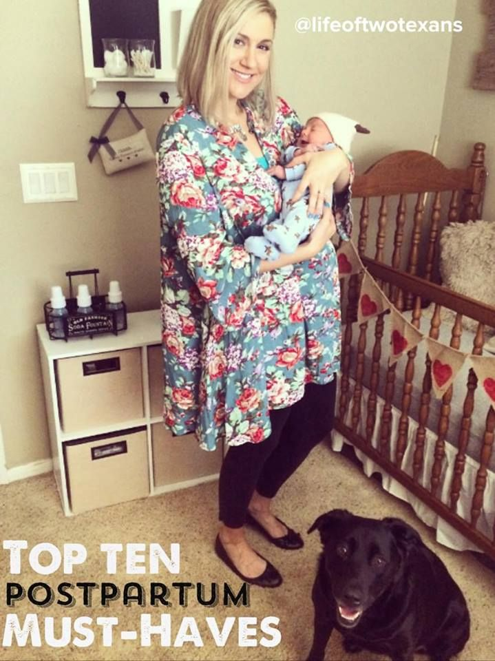 My Top 10 Necessities for Postpartum Recovery | The Life of Two Texans