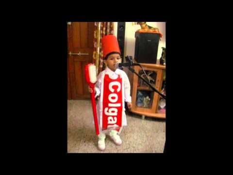 1st Prize Winning performance in Fancy Dress competition (Nursery class) - YouTube