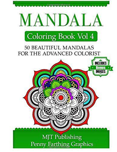 Mandala Coloring Book Vol 4