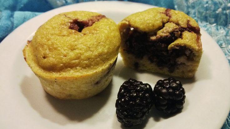 Szedres túrós muffin