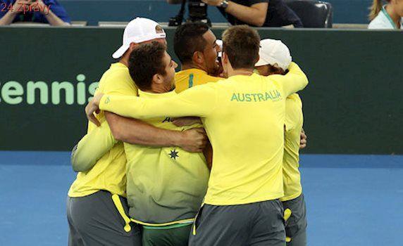 Austrálie slaví! Kyrgios vybojoval postup do semifinále Davis Cupu