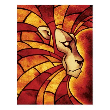 Lion OF Judah - Jah Rastafari - Postcard - postcard post card postcards unique diy cyo customize personalize