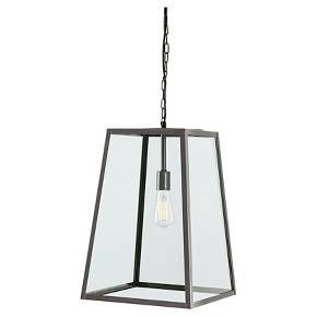 Be open to the possibilities with this metal pendant light. Transparent cube box style suits the transitional mood of a foyer or entryway beautifully. What a breath of fresh air over a dining room table or kitchen island, too.<br> Signature Design by Ashley is a registered trademark of Ashley Furniture Industries, Inc.
