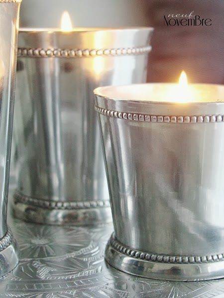Candle velas decor Neuf Novembre