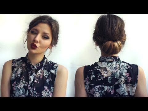 ► Łatwe Upięcie Dla Cienkich Włosów ◄ - YouTube