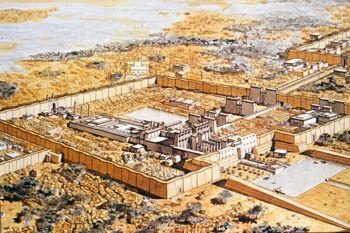 karnak temple reconstruction - Google Search