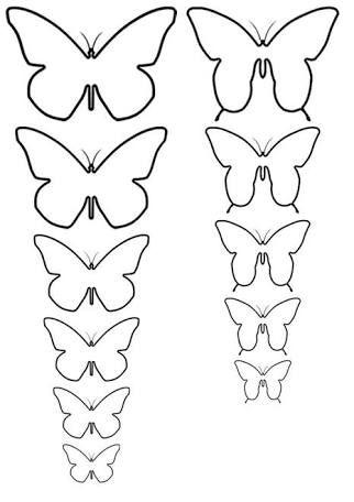 Resultado de imagen para mariposas papel pared