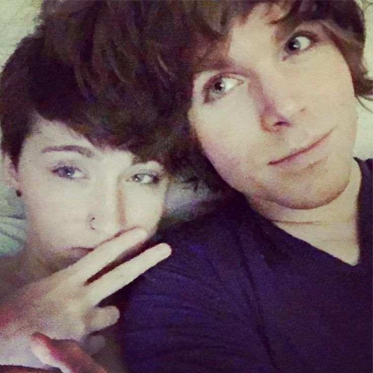 """""""Lainey & Greg in bed (^_^) ...watching Lion King 1 1/2. Thug life :D"""""""