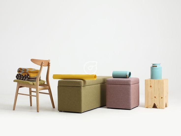 Extraordinary pouf. Minimalism, design, madeinpoland, wood.