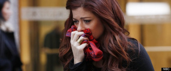 Debra Messing Smash Scarves