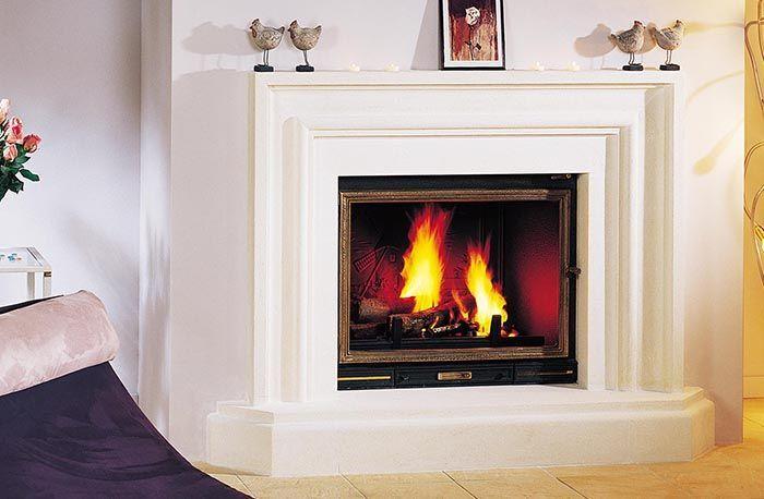 Seguin Multivision 8000 Cast Iron Cheminee Fireplace