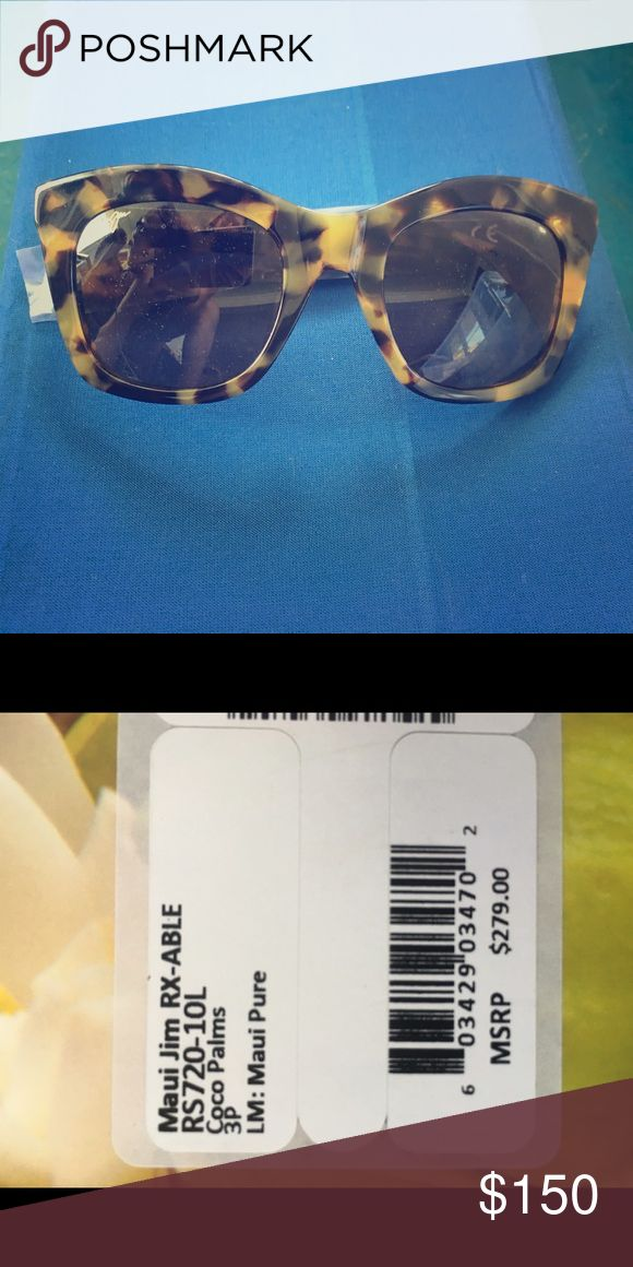 Maui Jim sunglasses Tortoiseshell women's sunglasses Maui Jim Accessories Sunglasses