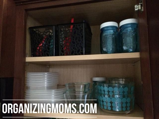 How to Organize Food Storage Containers. A step-by-step tutorial to help you declutter and organize your leftovers containers.