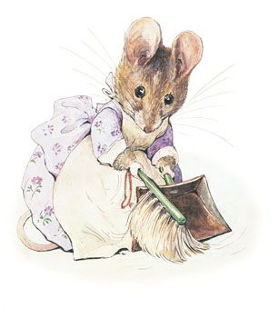 'The Tale of Two Bad Mice', 1904 -- Beatrix Potter. Potter took inspiration for the tale from two mice caught in a trap in her cousin's home and a dollhouse being constructed by her editor and publisher Norman Warne as a Christmas gift for his niece Winifred. During the course of the tale's development, Potter and Warne fell in love and became engaged, much to the annoyance of Potter's parents who were grooming their daughter to be a permanent resident and housekeeper in their London home.