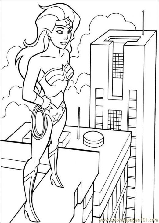 Free Nick Fury From Avengers Coloring Pages: 17 Best Coloriage Wonder Woman Images On Pinterest