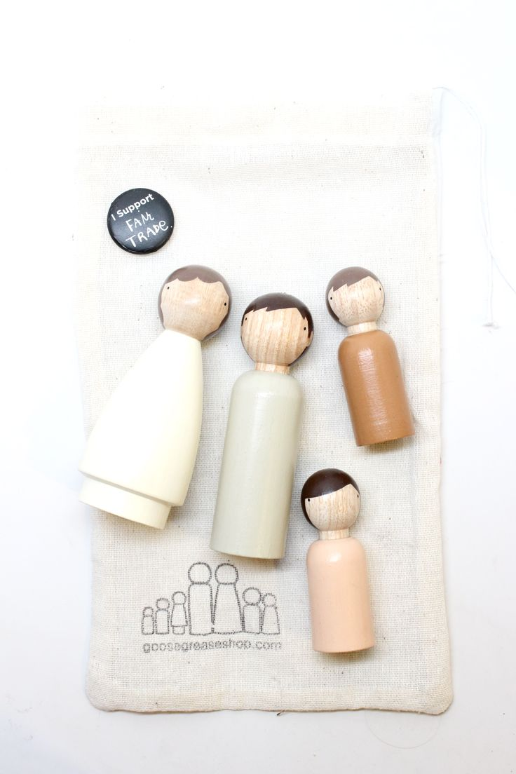 Goose Grease Customized family dolls