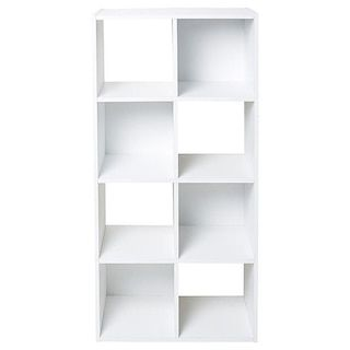 39 8 cube horizontal storage unit white target australia