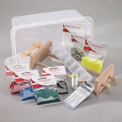 Materialsats pärlvävning