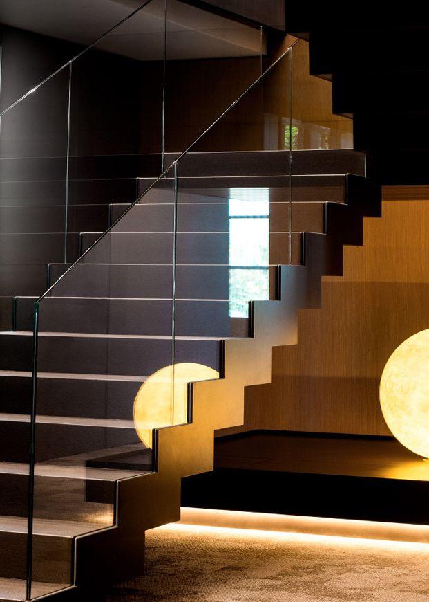 escalera nuevas oficinas de cuatrecasas abogados en barcelona de GCA architects