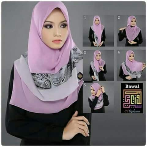 how to style tudung bawal 27 best images about style lorrr ...