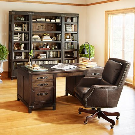 best home office desk. Alex Leather Desk Chair In Old Saddle Cocoa. Home Office Best