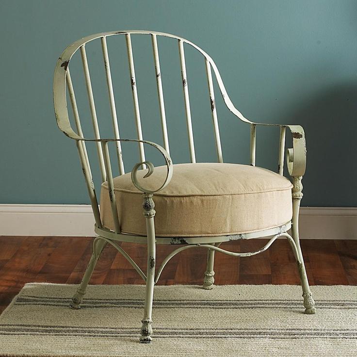Curled Iron Secret Garden Chair