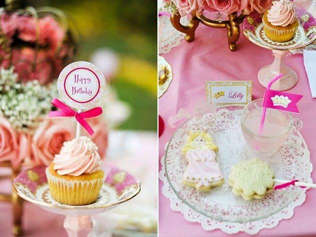 Princess Birthday Party Ideas: A DIY Fairytale Princess Birthday Party…