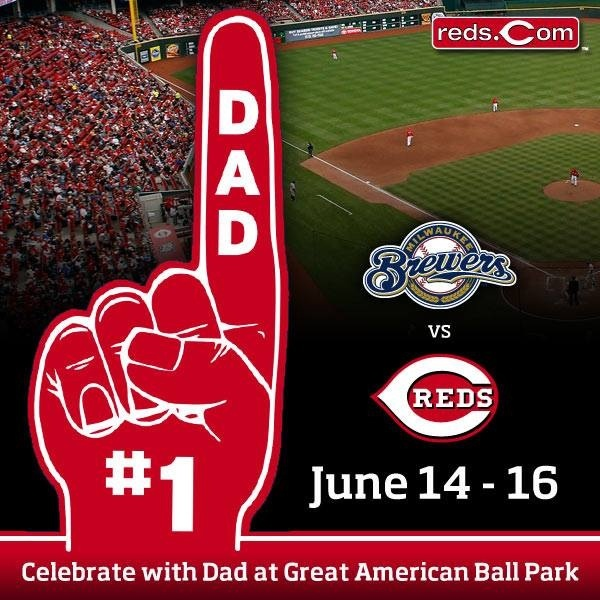red's father day game