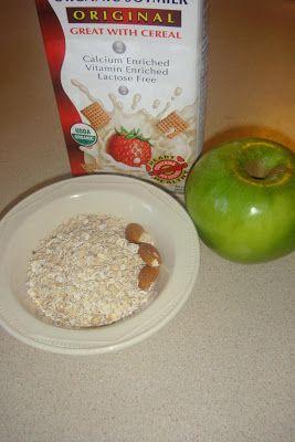Licuado de avena y manzana para colesterol y perder peso - MamásLatinas