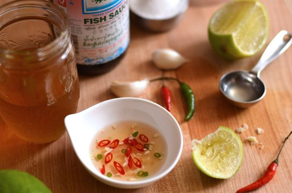 a vietnamese dipping sauce called Nuoc cham.