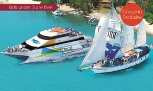Groupon - Island Adventure Tour with Lunch - Child ($ 49) or Adult ($79) with Gold Coast Adventures (Up to $129 Value) in Main Beach. Groupon deal price: $49