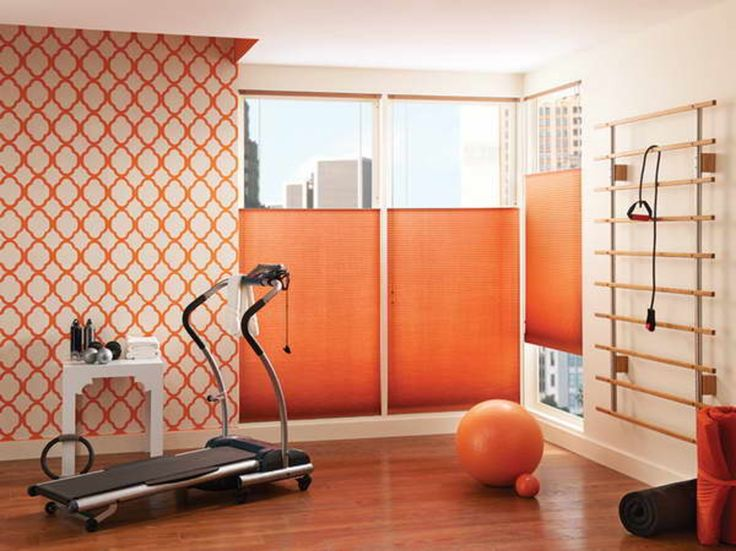 vertical cellular shades with orange ball