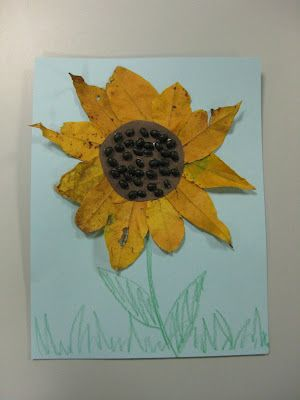 kids Sunflower craft! cute!