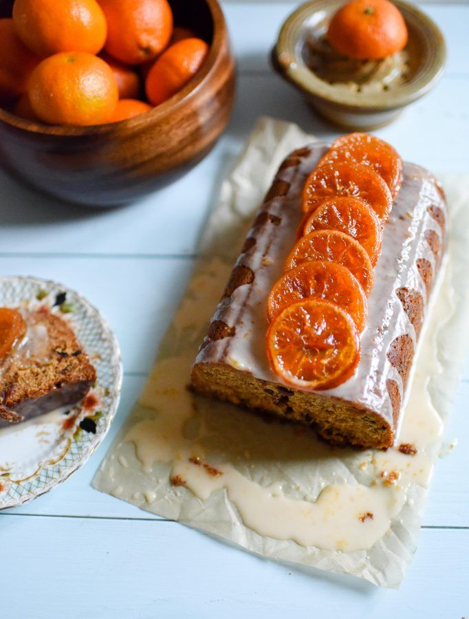 I made a delicious Clementine & Mincemeat Drizzle Cake using leftovers in my Circulon® UK loaf tin #CookWithCirculon
