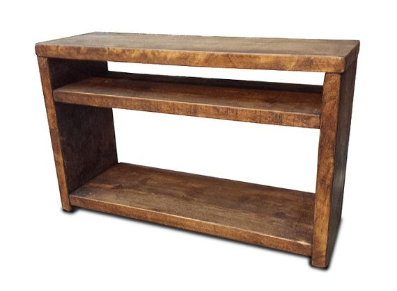 Slim Tv Stand by TheCoolWoodCompany on Etsy