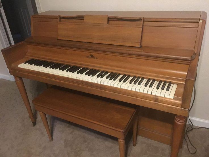 Wurlitzer Spinet Piano #Wurlitzer