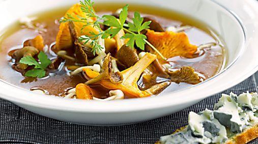 Recette : Comment faire un bouillon aux champignons ?