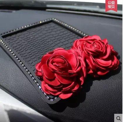 Car Dashboard Bling bling Anti-slip Mat Mobile Phone Holder for Mini Cooper with…