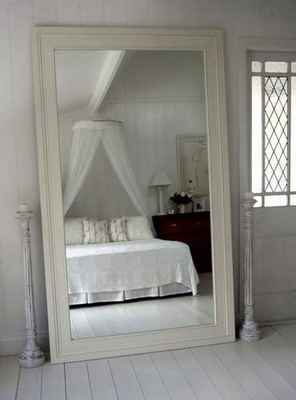 Pinterest the world s catalog of ideas for Large mirror for bedroom wall