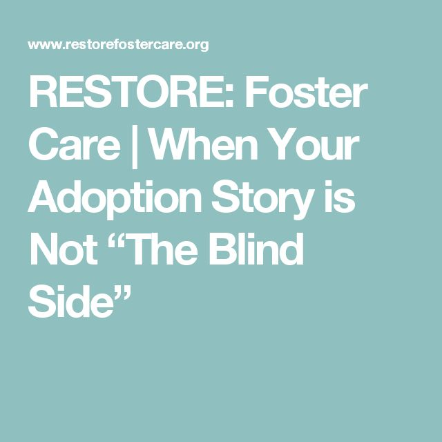 """RESTORE: Foster Care 