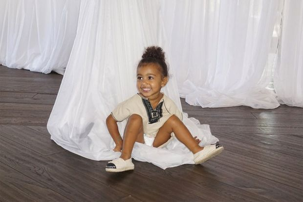 These Photos of North West at Kim Kardashian's Birthday Party Are Everything