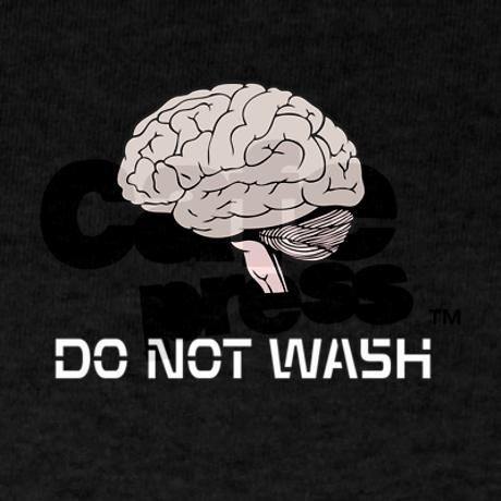 Funny atheist T shirt, DO NOT brain WASH graphic on light or dark apparel. Best Seller!