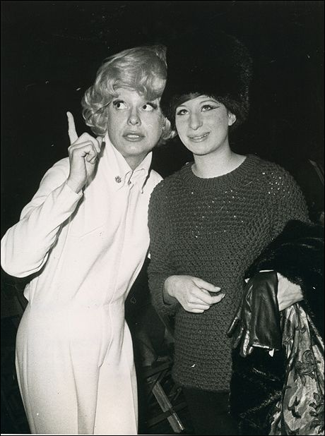 Carol Channing Mother | Carol Channing and Streisand, during a rehearsal in Washington, DC for ...
