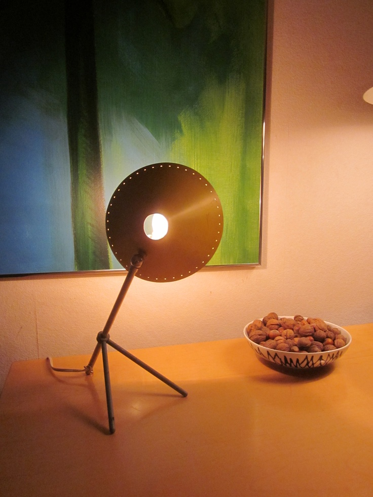 H.Th.A. Busquet 1950's lamp
