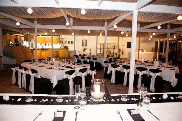 An Island Hideaway / reception venue